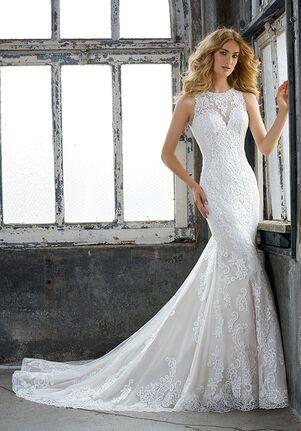 Morilee by Madeline Gardner Krista/ 8205 Sheath Wedding Dress