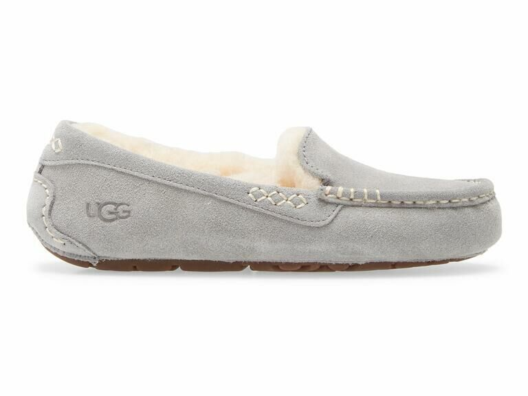 Comfy gray UGG slipper mother-in-law gift idea