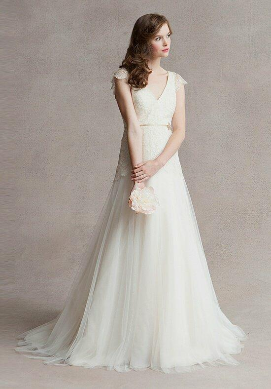 Jenny Yoo Collection Vionnet Cap Sleeves #1461BC Wedding Dress photo