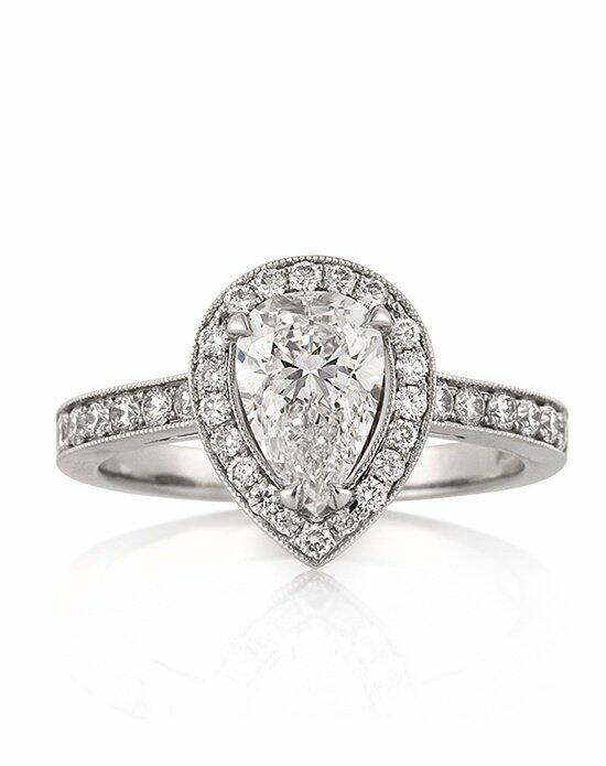 Mark Broumand 2.10ct Pear Shaped Diamond Engagement Ring Engagement Ring photo