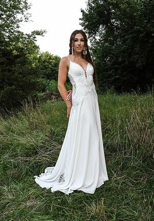 All Who Wander Delta A-Line Wedding Dress
