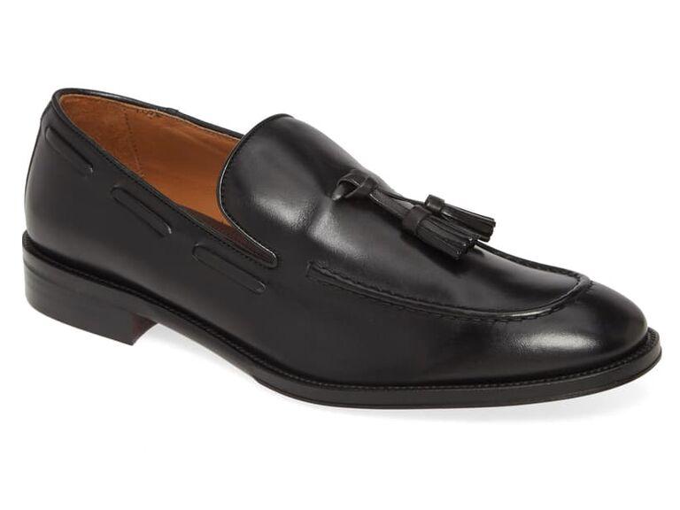 Tassel loafers beach wedding shoes