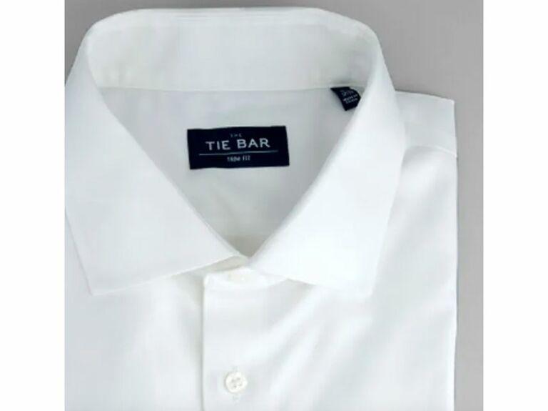 White button down dress shirt