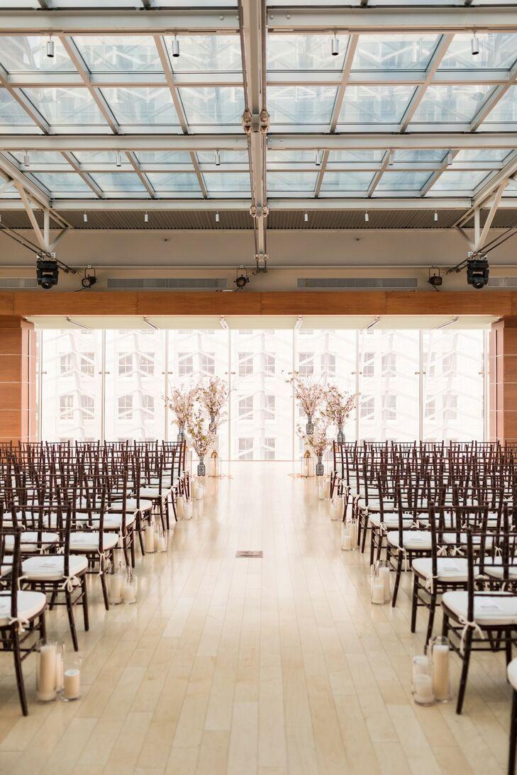 Wedding Ceremony at Kimmel Center for the Performing Arts, Philadelphia