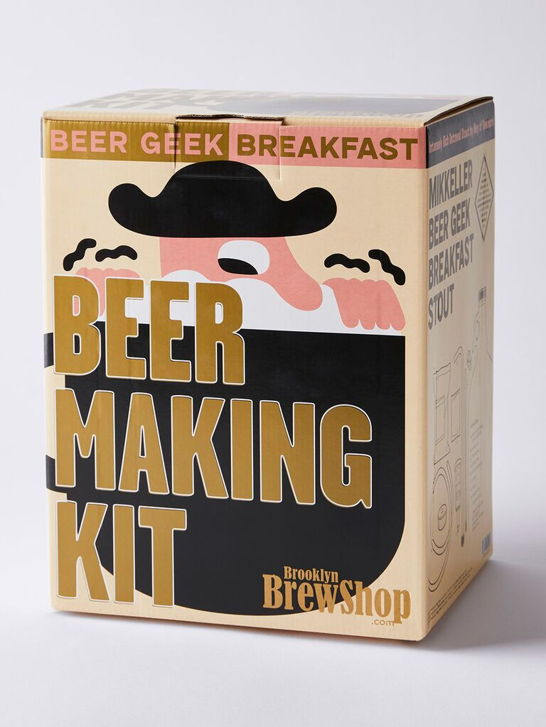 food52 beer making kit for bachelor party favors
