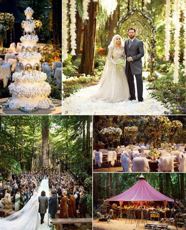 Celebrity Weddings Ranked