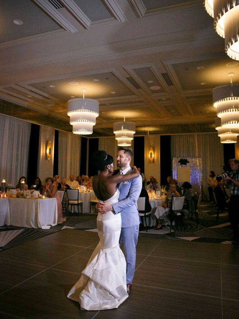 The Kimpton Gray Hotel wedding venue in Chicago, Illinois.