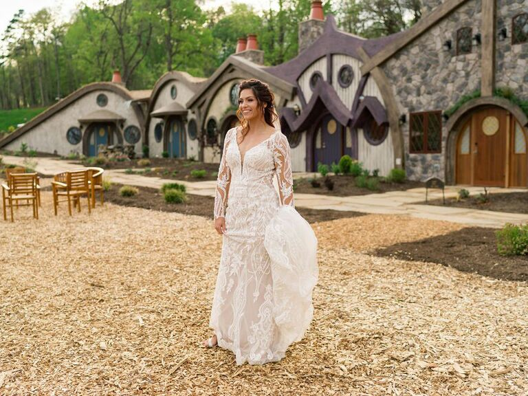 Mountain wedding venue in Knoxville, Tennessee.