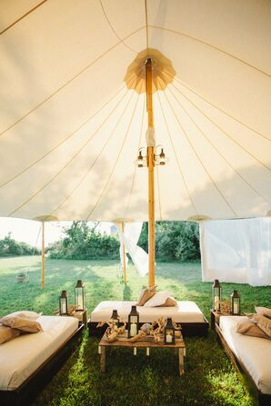 Tented Lounge Area