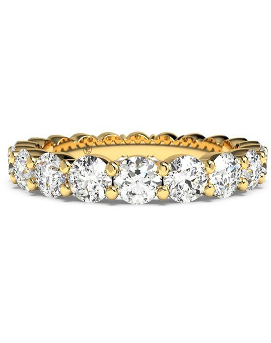 Ritani Women's Slim Round-Cut Diamond Prong-Set Eternity Band - in 18kt Yellow Gold - (2.00 CTW) Wedding Ring photo