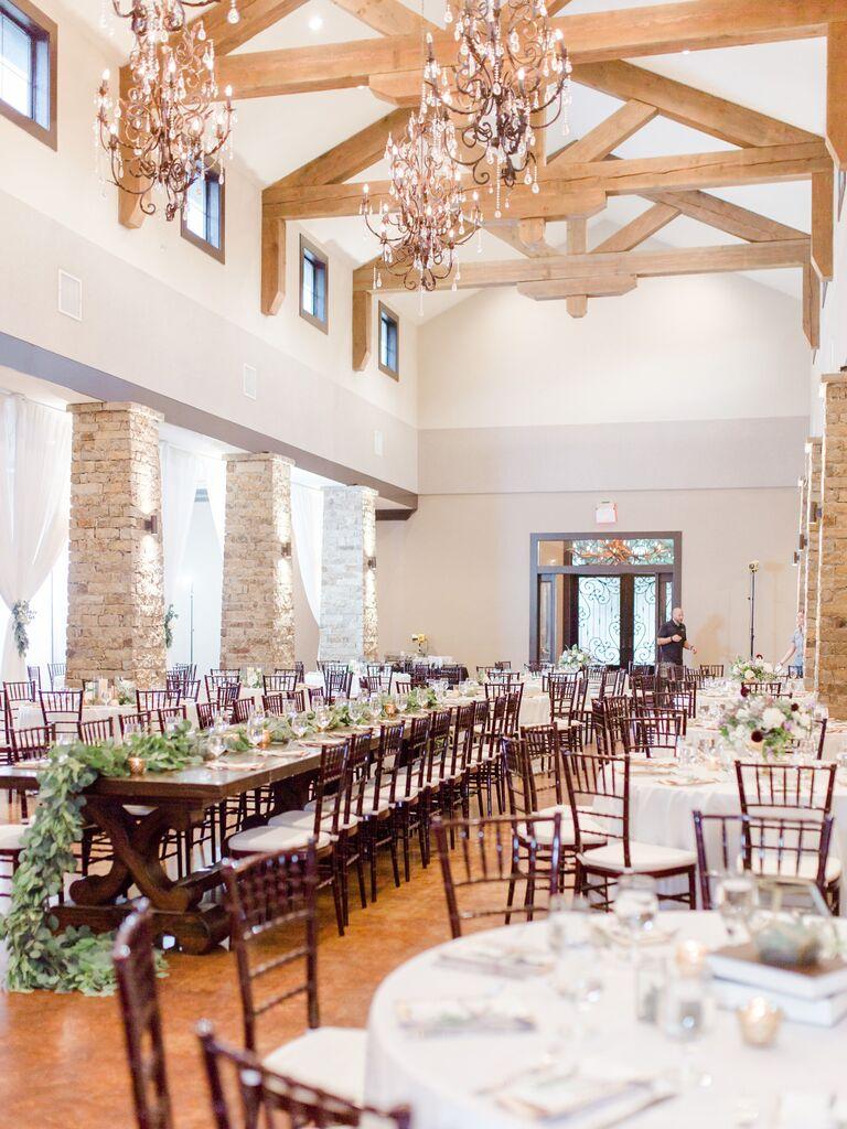 Wedding venue in Fredericksburg, Texas.