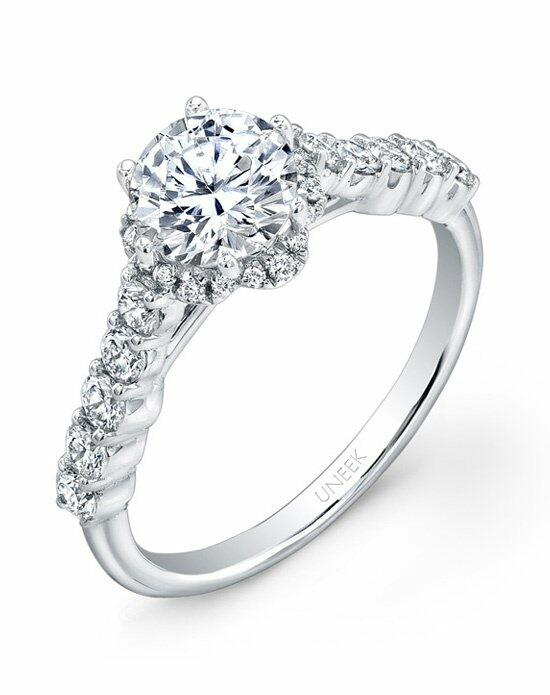 Uneek Fine Jewelry USM017RD-6.5RD Engagement Ring photo