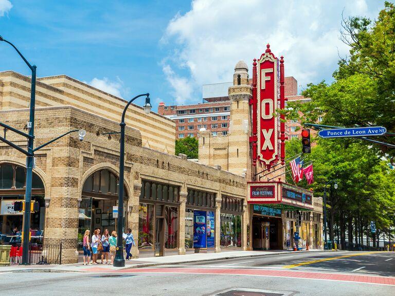 Fox entertainment venue in Atlanta